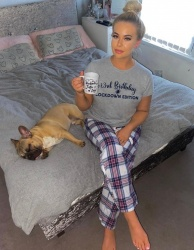 Lockdown Edition - Ladies or Mens Personalised Pyjamas