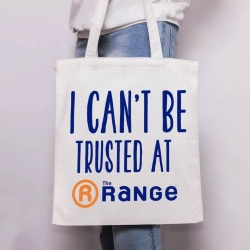 Can't Be Trusted at The Range Tote