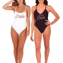 Personalised Bridal Party Swim Costume