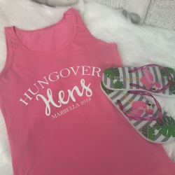 Personalised HUNGOVER Vest Top