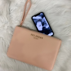 'Tess' Inspired PU Leather Clutch Bag