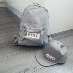 Matching Bag and Cap Personalised Combo