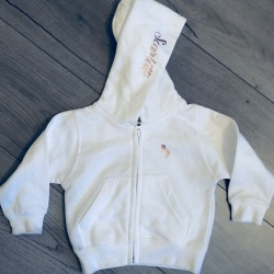 Girls 'Lauren' Unicorn Zip Hoodie