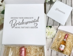 Bridal Party Proposal Box Gift Set