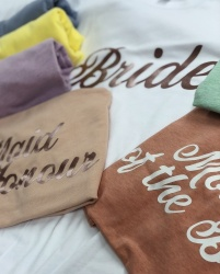 Pastel Bridal Party T-Shirt