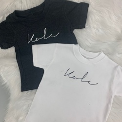 Personalised Name Signature T-Shirt