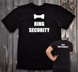 Boys Ring Security Duties T-Shirt