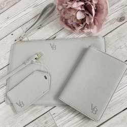 Small Initial Louise Inspired PU Leather Personalised Clutch Bag