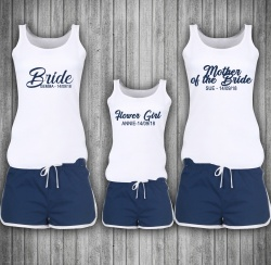 Personalised 'Ocean' Adult / Child PJ Set