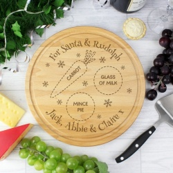 Personalised Christmas Eve Santa Treat Board