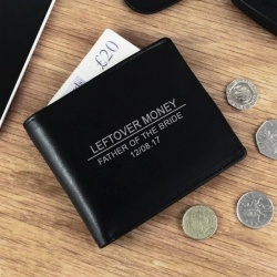 Father of the Brider 'Leftover Money' Wallet