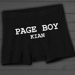 Boys 'Page Boy' Boxer Shorts