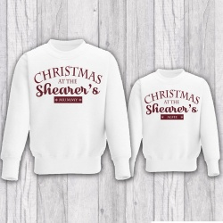 Personalised Family Christmas Jumper