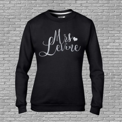 Married Name Personalised Sweatshirt