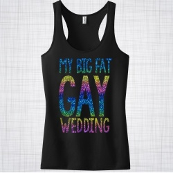 My Big Fat Gay Wedding Racer Vest