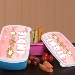 Animals Personalised Plastic Sandwich Box