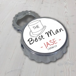 Best Man Bottle Opener Lighter