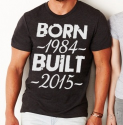 Born / Built Mens T-Shirt