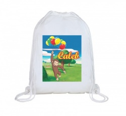 Curious George Personalised Swim Bag
