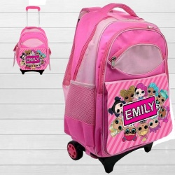 Personalised L.O.L LOL Surprise Travel Wheelie Case