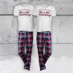 Last / First Xmas Gay Pyjama Set