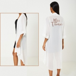 Personalised Asymmetric Sheer Kaftan