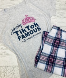 Personalised 'Nearly' TikTok Famous Pyjamas