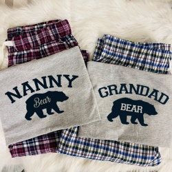 Bear Personalised Pyjama Set
