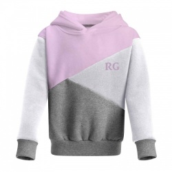 Girls Personalised Block Hoodie
