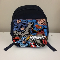 Black Avengers Small Personalised Rucksack