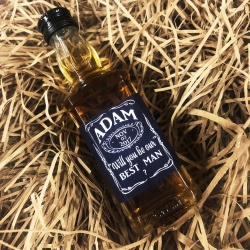 Personalised Jack Daniels Miniature Bottle