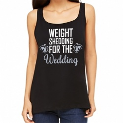 'Weight Shedding For The Wedding' Slouch Gym Vest
